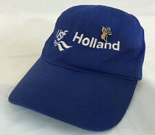 """USF Holland """"Just One More""""  Blue Adjustable Baseball Hat w/Pin"""
