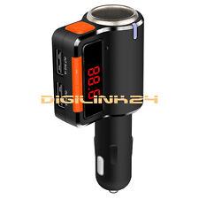 G25 FM Transmitter Bluetooth Freisprechanlage 2x USB Slot + Zigarettenanzünder