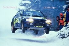 Colin McRae SUBARU IMPREZA 555 RALLY svedese fotografia 1996 1