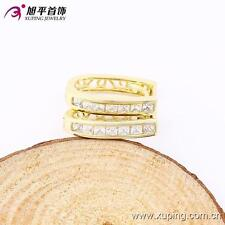 14k Gold Filled Elegant Fashion Women's Huggie Earring Zircon stone