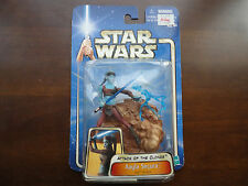 "Star Wars:Aayla Secura.Jedi Knight.3.75""action figure.AOTC.Hasbro.Unopened,boxed"