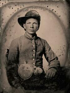 Master Series Collection Civil War Soldier Ninth-Plate Tintype C2727RP