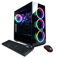 CyberPowerPC Gamer Master (2TB HDD + 240GB SSD, AMD Ryzen 3 3100, 3.6GHz, 8GB RAM, AMD Radeon RX 550) Desktop - Black (GMA8840CPGV5)