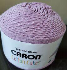 Caron Cotton Cakes Yarn Mauve Color 8.8oz 250g 530 Yards