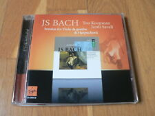 Koopman, Savall - Bach : Sonatas for Viola da Gamba & Harpsichord - CD Virgin