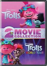 Trolls / Trolls World Tour 2-Movie Collection Dvd 2020