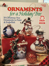 BOOK--ORNAMENTS FOR A HOLIDAY TREE--PLAID #9633