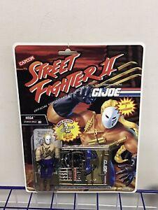 Street Fighter GI Joe - Vega - Hasbro Figure Rare Vintage