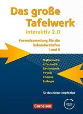 Das große Tafelwerk interaktiv 2.0 Mathematik, Informatik, Astronomie, Physik, C
