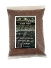 Daikon Radish Food Plot Seed  - Whitetail Deer and Other Wildlife - 5 lb Bag