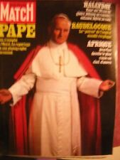 Paris Match Nr. 1585 Vatikan Rome Papst Jean Paul II in Ireland 1979
