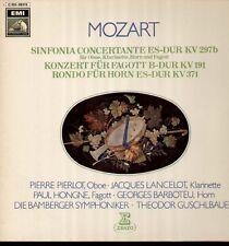 Mozart - Sinfonia Concertante u.a. LP, Pierlot, Lancelot, Hongne, Guschlbauer