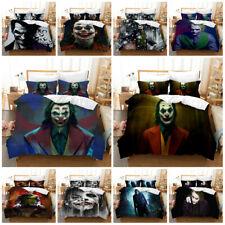 2019 Movie Joker Bedding Sets 2PC/3PC Of Duvet Cover & Pillowcase Comforter Set