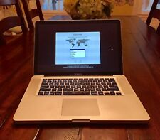"Apple MacBook Pro A1286 15.4"" Laptop - MC721LL/A (February, 2011)"
