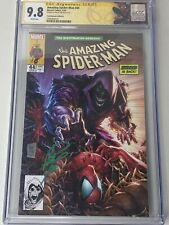 AMAZING SPIDER-MAN #44 TAN VARIANT A CGC 9.8 SIGNED BY PHILIP TAN, SPIDEY LABEL