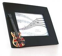 PHOTO FRAME Union Jack Guitar 6x4 rectangular