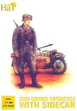 Soldatini 1/72 - WWII German BMW with Sidecar - HAT 8126