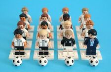 LEGO 71014 German Football Team DFB Complete Set 16 Minifigures World Cup Russia