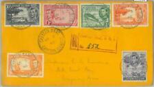 83313 - CAYMAN  - POSTAL HISTORY -  Set of 4 CoverS - DEFINITIVE SET fish TURTLE