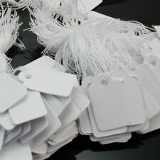 TOUCHSTONE 500Pcs String Label Jewelry Pricing Paper Price Tags Chain Tag CJX
