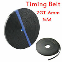 Gt2 Open Rubber Timing Belt 6mm Width 2mm Pitch For 3d Printer Reprap Prusa I3