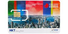 Hong Kong Tourist Prepaid SIM Card 4G 5GB 8 Day Pass
