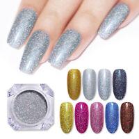 Nail Glitter Powder Holographicsss Nail Art Laser Chrome Pigment Dust Decoration