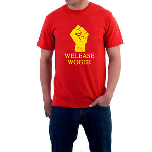 Monty Python T-shirt Parody Welease Woger. Life of Brian. Romans Sillytees
