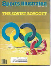 SPORTS ILLUSTRATED - FEATURING US THE SOVIET BOYCOTT - MAY 21, 1984