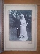 PHOTO ANCIENNE REF 204 - Mariage - Photo studio Dumont Bonnétable Couple