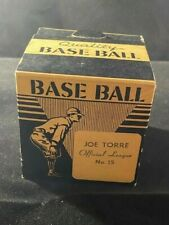 Vintage 1960's Joe Torre Official League Baseball - Sealed in Box