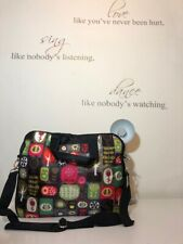 "Stylish Floral Laptop Shoulder Satchel Briefcase Bag! Size17""!New! Only £17,90!"