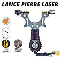 Lance pierre pour chasse pro avec laser fronde pour pêche précis avec bille neuf