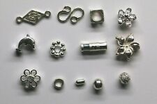925 Sterling Silver Spacers Connectors Dividers Decorators Findings Many Designs