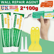 More details for 2x wall mending agent 100ml safemend wall mending agent with scraper wall filler