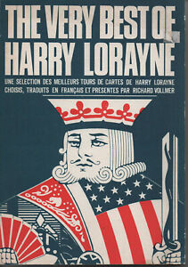 Magie - Prestidigation - Meilleurs tours de cartes - Harry Lorayne