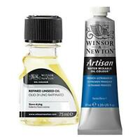 Oil Painting Supplies: Winsor & Newton Artisan Water Mixable Oil Color, 37ml, Fr