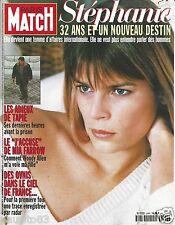 Couverture magazine,Coverage Paris Match 13/02/97 Stéphanie de Monaco
