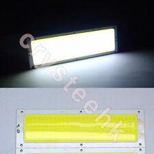 1 Pc Universal Panel Light 10W 112 COB LED White V12 Bright Lamp 120 X 36mm