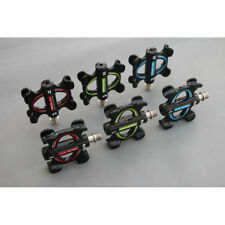 """9/16"""" Mountain Bike Pedals Double Sealed Bearing Flat Platform Pedals 3 Colours"""