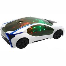 1x Kinder-Elektro-Spielzeug mit Rad-Leuchten & Musik 3D-Supercar-Art