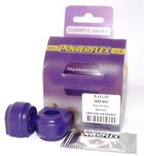 Mini One R50 00-08 POWERFLEX REAR ANTI ROLL BAR BUSHES 17mm PFR5-111-17
