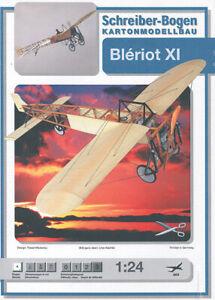 Schreiber-Bogen Kartonmodellbau Sopwith TriplaneAue-Verlag 755Papiermodell