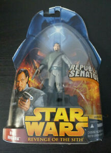 """Bail Organa / Star Wars / Revenge of the Sith / 3.75"""" Action Figure / 2005"""