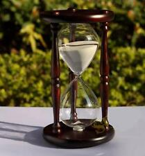 60 minutes Antique Wood Sand Hourglass Sandglass Sand Timer Clock for Gift Decor