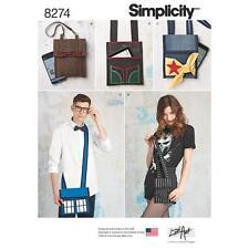 Simplicity sewing pattern bag os 8274
