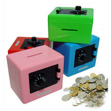 Password  Saving Piggy Bank Plastic Combination Lock Money Box With Secret Code