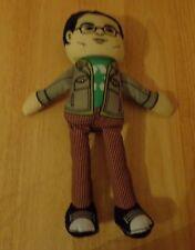 Johnny Galecki The Big Bang Theory Leonard Plush Doll Figure Tv Show