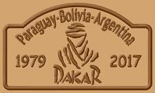 DAKAR logo 2017 Paraguay-Bolivia-Argentina  iron-on Aufnäher patch