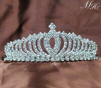 Small Pretty Tiaras Hair Combs Rhinestone Girls Crowns Bridal Prom Party Diadem
